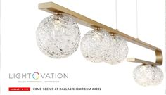 Are you ready for Lightovation?! Browse through hundreds of light fixtures from chandeliers to wall sconces featuring the latest in trends and innovation. #interior #design #lighting #decor #modern #contemporary #chandelier #pendant #LED #lightovation #dallasmarket