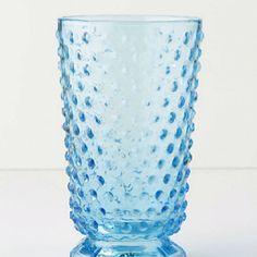 Hobnail Tumbler, Depression Glass Replica. $8.00 http://www.anthropologie.com/anthro/catalog/productdetail.jsp?id=870063&parentid=BAYNOTE