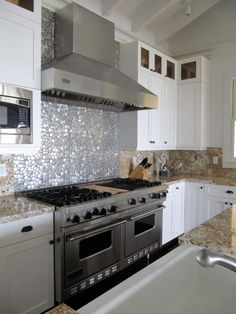 13 Cool Metal Kitchen Backsplash Tiles Images Inspirational