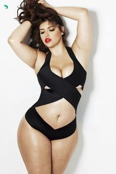 I guess I'm on Pintrest now.Curvy is the new black. Denise Bardot