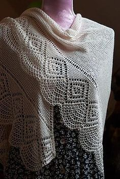 Ravelry: Petrina pattern by Maria Näslund crochet wraps for women are beautiful for evening wraps Knitted Shawls, Crochet Shawl, Knit Crochet, Crochet Wraps, Shawl Patterns, Knitting Patterns, Crochet Patterns, Paintbox Yarn, Yarn Brands