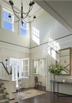 gorgeous white entrance,hallway, Dutch door