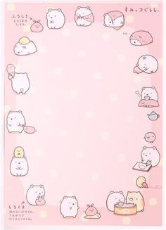 colorful Sumikkogurashi animals in corner Note Pad - Memo Pads - Stationery - kawaii shop Printable Stickers, Cute Stickers, Memo Notepad, Pen Pal Letters, Sanrio Wallpaper, Cute Stationary, Cute Notes, Kawaii Stationery, Letter Set