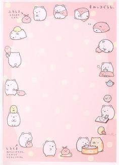 colorful Sumikkogurashi animals in corner Note Pad - Memo Pads - Stationery - kawaii shop Sanrio Wallpaper, Kawaii Wallpaper, Memo Notepad, Pen Pal Letters, Cute Stationary, Cute Notes, Kawaii Stationery, Letter Set, Note Paper