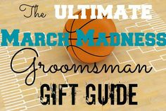 The Ultimate March Madness Groomsman Gift Guide - great gift ideas for basketball fans Best Groomsmen Gifts, Groomsman Gifts, Tnt Basketball, Gifts For Wedding Party, Wedding Ideas, Party Gifts, College Fun, College Hoops, March Madness