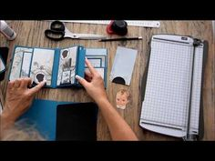 Tuto de l'album papillon facile à faire - YouTube Graphic 45, Faire Un Album Photo, Mini Albums Photo, Mini Album Scrap, Album Vintage, Minis, Mini Album Tutorial, Origami, Explosion Box