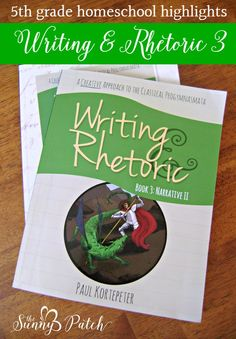 Get a peek at Writing & Rhetoric 3 from Classical Academic Press. A fun, engaging, educational writing series for homeschoolers. homeschool writing program