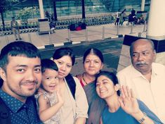 Bye Bye Mumbai, happy Dilli wasees signing off!  p.s: Family gone, work mode on :* #TheBishts #goodtimes #FamilySelfie
