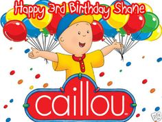 4 Caillou Edible Cake Topper by ItsEdible on Etsy 899
