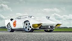 Real Mach 5 car from Speed Racer cartoon