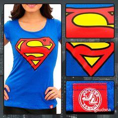 Encuentra las mejores playeras de súper héroes en un solo lugar: Gaudena #Playera #Tshirt #Héroe #Heroe #Super #Súper #LigaDeLaJusticia #JusticeLigue #Comic #Cómic #Man #Woman #Hombre #Mujer #Blue #Azul #SuperMan #HombreAcero #HombreDeAcero #SteelMan