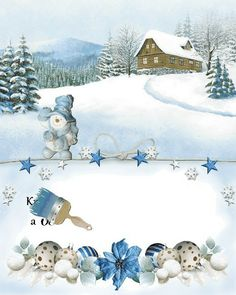 vanoce_vanocni_prani Christmas And New Year, Christmas Cards, Merry Christmas, Mobiles, Clip Art, Happy, Outdoor, Painting, Wallpapers