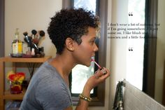 thin hair twa big chop | Lipstick Manual™ | A LifeSTYLE Blog : Pretty TWA's: DOPE Folks