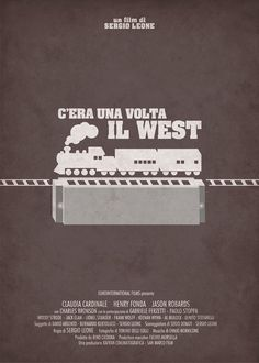 Once Upon a Time in the West - Alternative Poster