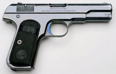 Early Type I Colt 1903 32 with blue finish and plunge milled slide serrations.Colt Model 1903 Pocket Hammerless