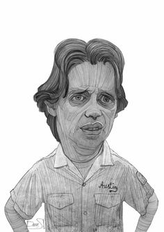 Donny - The Big Lebowski Tribute Sketches by Stavros Damos, via Behance