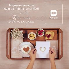 Inspire-se para um café da manhã romântico no Dia dos Namorados! Em uma data tão especial como esta, esse agrado vai surpreender o seu companheiro ainda mais! Afinal, quem não gosta de ser mimado com um café da manhã na cama? Alguns detalhes podem fazer toda diferença na hora da montagem de sua bandeja de café da manhã, confira as dicas e ideias que preparamos para ajudar você a criar um café da manhã romântico e criativo. | Copa&Cia