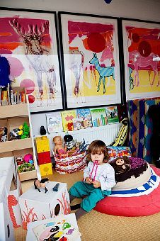 kids should live with art, yes?