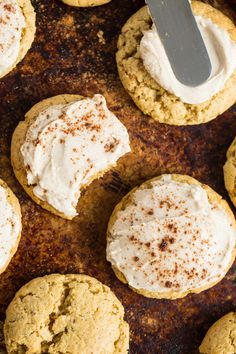 Perfect Little Pumpkin Cookies with Spiced Buttercream — Oh She Glows