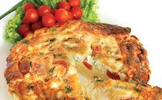 Epicure's Frugal Taco Frittata Italian Frittata Recipe, Frittata Recipes, Mini Frittata, Yummy Chicken Recipes, Yum Yum Chicken, Cena Paleo, Epicure Recipes, Egg Recipes, Salads