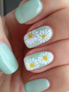 Jarní nehty spring nails