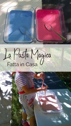 Una Pasta Magica Fatta in Casa - Con Solo Maizena e Acqua Infant Activities, Activities For Kids, Toddler Crafts, Crafts For Kids, Felt Crafts Diy, Kid Experiments, Baby Games, Working With Children, Creative Kids