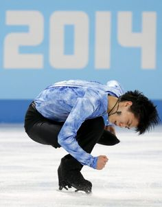 Japan's Yuzuru Hanyu holds a commanding lead after a brilliant showing, earning a season-high 101.45 points. Sochi 2014. I love him!