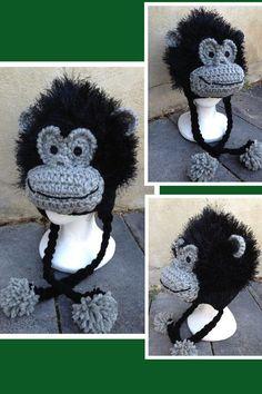 Ravelry: Gilbert Gorilla Hat pattern by Heidi Yates