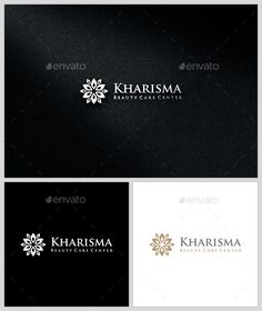 Kharisma Beauty Care Center - Logo Template by BlackBoxCreativeIdea Kharisma Beauty Care Center Logo Template luxury brand or for any project related to classic elegance. It is easy to use and can