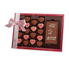 Dia dos namorados - Porta Joias Delícias do Coração  -  bombons gourmet
