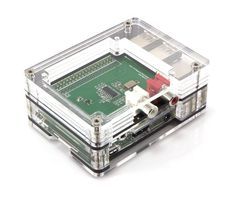 Pi Squared 3 for Raspberry Pi3B+ Pi2 and B+ Wood Frame Clear Tall Height