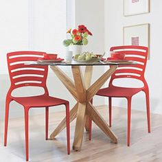 Cadeira Sofia Vermelha Horizontal Tramontina 92237/040 - MARIN BRASIL