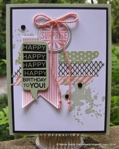 Canopy Crafts: Another Amazing Birthday display sample + amazing Big Shot deals!