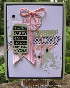 Amazing Birthday display board sample | Nance Lempinen-Leedy | Canopy Crafts