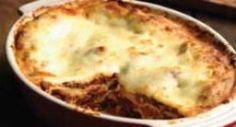 Bean Lasagna