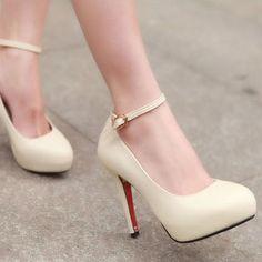 Korean wild high heels platforms high heels shoes