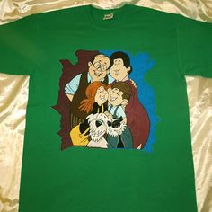 The Mézga Family Hand Painted, Clothing, Mens Tops, T Shirt, Instagram, Outfits, Supreme T Shirt, Tee Shirt, Outfit Posts