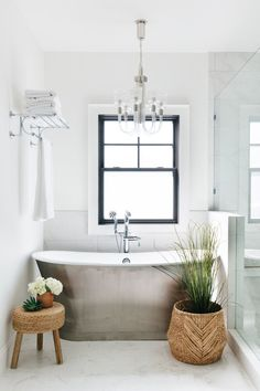 For Sale: LGD Staging Project in Arcadia Proper — Lexi Grace Design Bathroom Staging, Home Staging, Bathroom Ideas, Hill Interiors, Design Blog, White Towels, Home Hacks, Cool Lighting, Curb Appeal