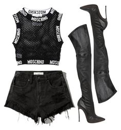 """""""Untitled #15"""" by sianjasmynp ❤ liked on Polyvore featuring Abercrombie & Fitch and Casadei"""
