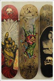 I'd love to design skateboards, snowboards, and surf boards for a living Skateboard Deck Art, Skateboard Design, Skate And Destroy, Skate Art, Skate Decks, Affinity Designer, Skateboards, Surfboards, Art Boards