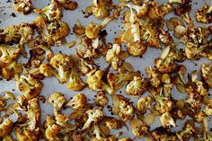 Roasted, Spiced, Almond-Y Cauliflower on Food52: http://f52.co/1tGu9TU. #Food52