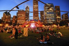 Crowd getting into it a Downtown Sound. Photo: Chicago Tribune http://www.chicagonow.com/show-me-chicago/2015/05/chicago-summer-events-calendar-2015-top-10-free-events/