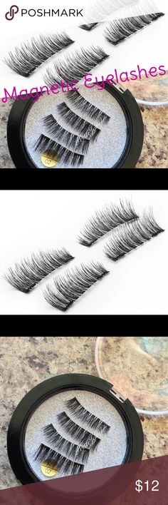 1 Pair full Strip Magnetic False Eyelashes ⭐️Brand new❌Firm Price⭐️Bundle & Save Orders are processed in 2-3 biz days, excludes transit time, holidays & weekends. Comes with tracking # ~~~~~~~~~~~~~~~~~~~~~~~~~~~~~~~~~~~~~~  Covers your full eyelashes! Synthetic hair Makeup False Eyelashes