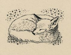 Fox patch by edithelliott on Etsy