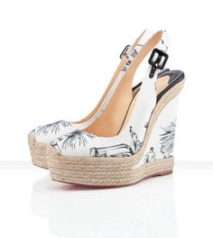 Louboutin's Everesta 140mm for this coming Spring find them at: http://us.christianlouboutin.com/everesta-cotton-24467.html