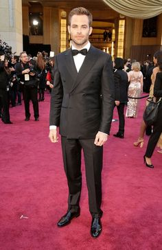Chris Pine at The Oscars