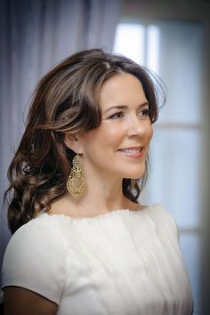 HRH Crown Princess Mary of Denmark hosts a dinner for persons actively involved in sustainable fashion in Frederik VIII's Palace, Amalienborg, 23 April 2014.