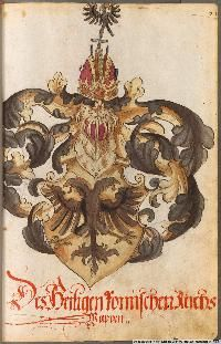 Image 00093 Kaiser Karl, Friedrich Ii, Coat Of Arms, Rooster, Vintage World Maps, Painting, Animals, Image, Coats