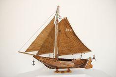 """Online veilinghuis Catawiki: Uniek scheepsmodel van een """"Hoogaars"""""""