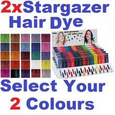 Stargazer Semi Permanent Hair Colour Dye Choose Your Colour Pinks Deep Violet Hair, Hair Dye Colors, Hair Colour, Semi Permanent Hair Color, Blogger Themes, Alcohol Free, Free Coloring, Stargazing, 2 Colours